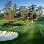 The 16th hole at Augusta National
