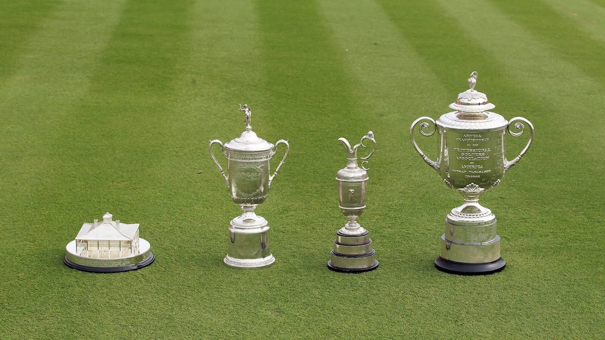 The Majors in Golf