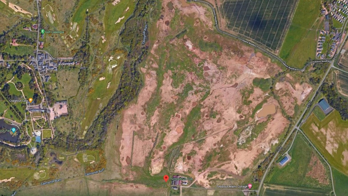 The unfinished Golf course